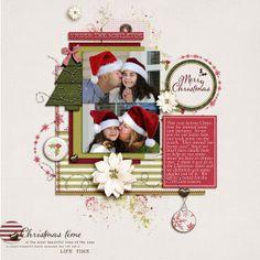 2 photos + christmas