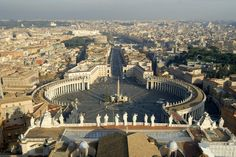 St.Peter's Square...I want to attend Easter service at the Vatican and see the Pope.
