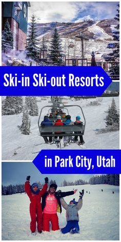 Lodge at the Mountain Village by ASRL Family ski trip? Try these awesome ski-in ski-out resorts in Park City Utah! Try these awesome ski-in ski-out resorts in Park City Utah! Park City Utah Resorts, Park City Utah Skiing, Park City Ski Resort, Ski Park, Salt Lake City Skiing, Ski Utah, Ski Vacation, Vacation Ideas, Winter Vacations