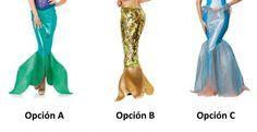 Cómo hacer un disfraz de sirena - 6 pasos (con imágenes)