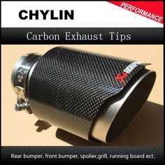 """HOT PRICES FROM ALI - Buy """"Inlet Outlet Stainless car glossy Carbon Fiber Car Exhaust Tip tailpipe car-styling exhaust car muffler tip Akrapovic"""" for only 39 USD. Corolla Hatchback, Custom Car Interior, Car Mods, Exhausted, Custom Cars, Carbon Fiber, All In One, Tips, Stuff To Buy"""