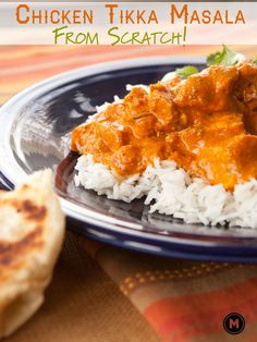 Start with basic ingredients and make the classic authentic Indian dish, Chicken Tikka Masala. Guaranteed dinner winner.