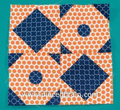 City Girl Sew Along Block #11 - step by step tutorial on how to make the Pool Tiles block for our sew along.