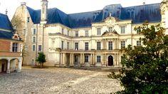 Inside chateau de blois