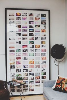 very nice idea! :P We have an issue with space but heaps of pics we love so this would really work well, thank you