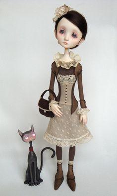 Charlotte - original doll by Ana Salvador