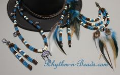 ~Add Rhythm to Your Ride™~ Visit RnB's online store at www.rhythm-n-beads.net ...with 100+ designs to choose from as well as our custom option with close to 100 bead colours... then dress them up with your own personal touch, with optional feathers, pendants or horsehair tassels.we'll bring your vision to life!!! Email rhythmnbeads@gmail.com and we can start designing your set of rhythm beads today. Happy trails!