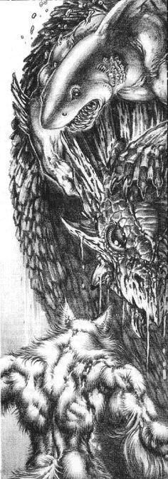 Rokea - White Wolf, World of Darkness.