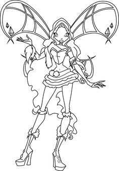 Winx Club Coloring Pages Search Colouring In Quote Searching Books Printable
