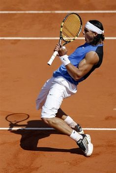Rafael Nadal  -King of Clay  -10 Major Titles (and many more to come)  -My FAVORITE tennis player EVER!