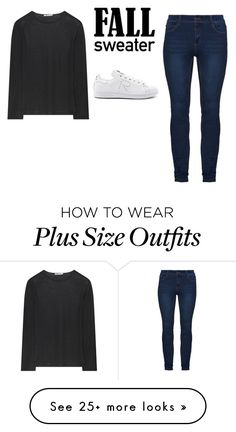 """Sin título #542"" by karlamichell on Polyvore featuring Alexander Wang and adidas"