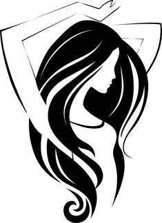 Find vector collection of ecological girl's symbols Stock Images in HD and millions of other royalty-free stock photos, illustrations, and vectors in the Shutterstock collection. Vector Graphics, Vector Art, Woman Silhouette, Silhouette Art, Sketch Painting, Illustration Girl, Art Girl, Line Art, Pop Art