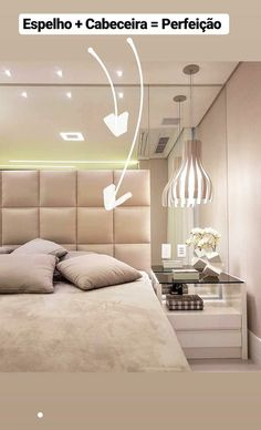 Trendy Home Interior Apartment Headboards Bedroom Furniture Design, Apartment Interior, Bedroom False Ceiling Design, Girl Bedroom Designs, Luxurious Bedrooms, House Interior, Bedroom Decor, Interiors Dream, Trendy Home