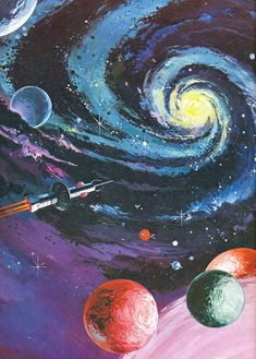 """""""Art from Space Wars Fact and Fiction, (Octopus UK, 1980). Art is uncredited but most likely Wilf Hardy"""""""
