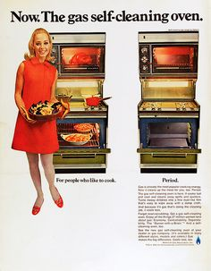 Gas Oven Ad, 1969