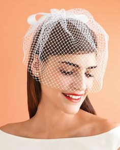 Arte & Casamento: DIY [Faça você mesma] seu Voilette, Casquete e Fascinator
