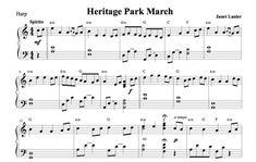 $3.00 Harp Music: Heritage Park March