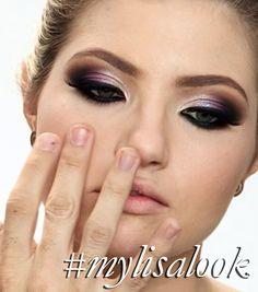 Helder Marucci inspired by my tutorials  http://www.lisaeldridge.com/video/ #MyLisaLook #Makeup #Beauty