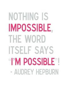 ohjappy: IM POSSIBLE!