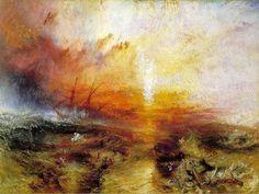 J. M. W. Turner -  Location: Museum of Fine Arts, Boston Period: Romanticism Dimensions: 91 cm x 1.23 m Created: 1840 Genres: History painting, Marine art
