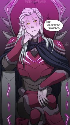 """Prince Lotor: King of the face of """"Bitch does it LOOK like I give a fuck?"""""""