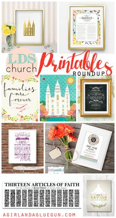 lds church printable