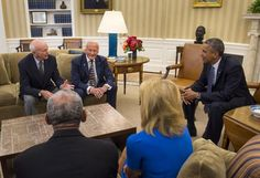 President Obama met with #Apollo11 astronauts Michael Collins, @TheRealBuzz, Carol Armstrong