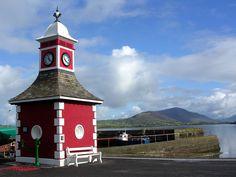 Knightstown Clock, Valentia Island #wildatlanticway