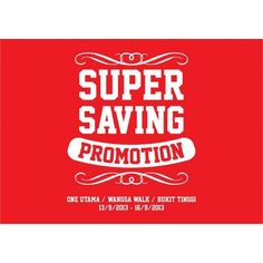 Tropicana Life Super Saving Promotion