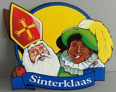 Sinterklaas etalage 'bord'