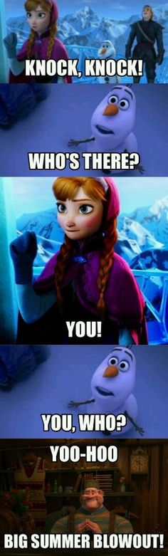 15 funny frozen jokes and memes that only real fans will love . - 15 funny frozen jokes and memes that only real fans will love 15 Funny Frozen Jokes an - Disney Memes, Humour Disney, Funny Disney Jokes, Funny Jokes For Kids, Disney Quotes, Disney Fails, Disney Princess Memes, Jokes Kids, Really Funny Memes