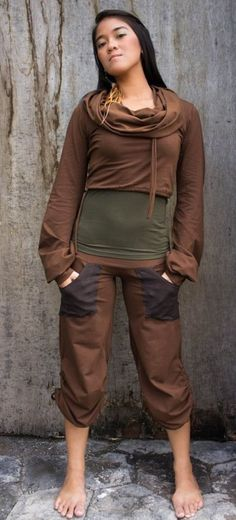 The YoYoga Jumper is a sporty and playful design Facts Material Cotton Lycra Modelsize Our Model wears size S Maintenance note no tumble dry Mashine Wash Jumpers For Women, Jackets For Women, Clothes For Women, Steampunk Clothing, Steampunk Fashion, Festival Outfits, Festival Fashion, Woman Outfits, Cool Outfits