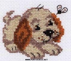 Perros para bordar en punto de cruz | Punto de cruz - Colección de ...