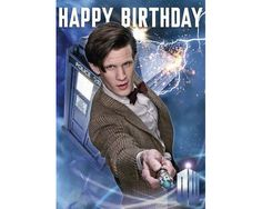 Doctor Who Birthday card novelty book packed with activities and games Doctor Who Happy Birthday, Doctor Who Party, Happy Birthday Funny, Happy Birthday Wishes, Birthday Greetings, Birthday Messages, Birthday Images, Birthday Cards, Birthday Ideas