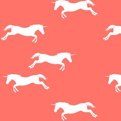 Unicorns fabric by robin_rice on Spoonflower - custom fabric