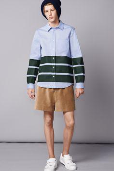 Acne Studios Spring 2015 Menswear - Collection -  Statement stripe