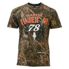 NASCAR Martin Truex Jr. TrueTimber Camo T-Shirt for Men - TrueTimber Kanati - 3XL