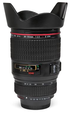 ThinkGeek :: Camera Lens Mug