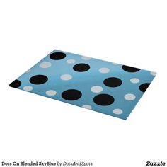 Dots On Blended SkyBlue Cutting Boards