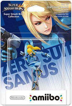Amiibo 'Super Smash Bros' - Samus sans armure