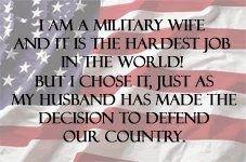 Military Wife shmanderz