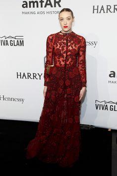 MIa Moretti red lace