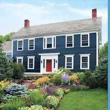Image result for blue house exterior