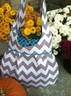 Gray chevron purse all local here in cincy!! Fabulous quality and craftsmanship