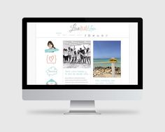 Love Full Life lifestyle blogger blog and business life coach. Branding + logo + web design. Click to see more!