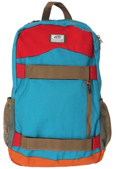This would be perfect for holding your Trapper Keeper - Vans Authentic Skatepack Backpack - Bright Blue Canvas
