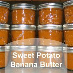 Sweet Potato Banana Butter |Sky Minded & Ever Growing