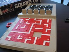 A Board Game A Day: Square Off Wooden Board Games, Game Boards, Outdoor Games For Kids, Information Design, Diy Games, Canada Day, Educational Toys, Game Design, Card Games