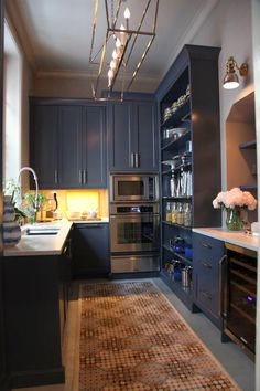 Butler's Pantry at 2014 Kips Bay Decorator Showhouse; photo by Heather Clawson for Habitually Chic