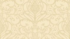 Palmiro (33860) - Albany Wallpapers - Heavy weight Italian vinyl with heraldic scrolls and flourishes in a pretty symmetrical design, with a raised texture on a linen effect background. . Shown in the rich cream on pale cream.  Please ask for sample for true colour match.